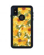 Sunflowers iPhone XS Waterproof Case
