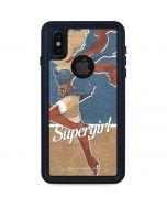 Supergirl iPhone X Waterproof Case