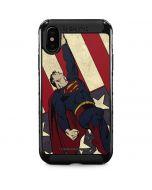 Superman American Flag iPhone XS Max Cargo Case