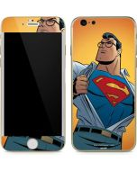 Superman Cartoon iPhone 6/6s Skin