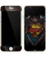 Superman Chalk iPhone 6/6s Skin