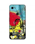 Superman Color Splatter Google Pixel 3a Skin