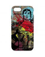 Superman Color Splatter iPhone 8 Pro Case