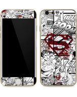 Superman Comic Logo in Red iPhone 6/6s Skin