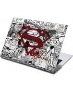 Superman Comic Logo in Red Yoga 910 2-in-1 14in Touch-Screen Skin