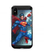 Superman Elements iPhone XS Max Cargo Case