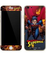 Superman on Fire iPhone 6/6s Skin