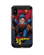 Superman on Fire iPhone XS Max Cargo Case