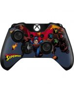 Superman on Fire Xbox One Controller Skin