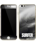 SURFER Black and White Wave iPhone 6/6s Skin