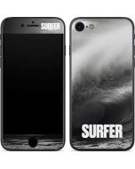 SURFER Black and White Wave iPhone 7 Skin