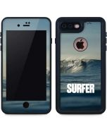 SURFER Waiting On A Wave iPhone 7 Plus Waterproof Case