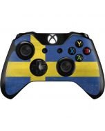 Sweden Flag Distressed Xbox One Controller Skin