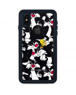 Sylvester and Tweety Super Sized iPhone XS Waterproof Case