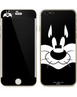 Sylvester the Cat Black and White iPhone 6/6s Skin