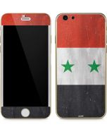 Syria Flag Distressed iPhone 6/6s Skin