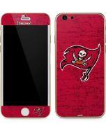Tampa Bay Buccaneers Distressed iPhone 6/6s Skin