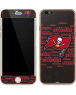 Tampa Bay Buccaneers Grey Blast iPhone 6/6s Skin