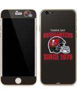 Tampa Bay Buccaneers Helmet iPhone 6/6s Skin