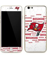 Tampa Bay Buccaneers White Blast iPhone 6/6s Skin