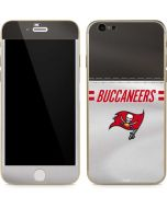 Tampa Bay Buccaneers White Striped iPhone 6/6s Skin