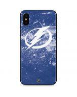 Tampa Bay Lightning Frozen iPhone XS Skin