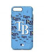 Tampa Bay Rays - Cap Logo Blast iPhone 7 Plus Pro Case
