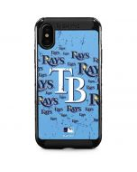 Tampa Bay Rays - Cap Logo Blast iPhone XS Max Cargo Case