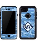 Tampa Bay Rays Digi Camo iPhone 8 Waterproof Case
