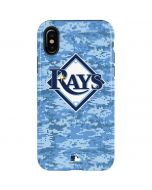 Tampa Bay Rays Digi Camo iPhone X Pro Case