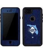 Tampa Bay Rays Home Turf iPhone 8 Waterproof Case