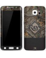 Tampa Bay Rays Realtree Xtra Camo Galaxy S6 Edge Skin