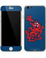 Tasmanian Devil Blue iPhone 6/6s Skin