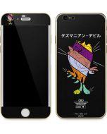 Tasmanian Devil Sliced Juxtapose iPhone 6/6s Skin