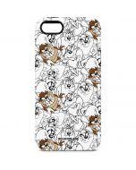 Tasmanian Devil Super Sized Pattern iPhone 5/5s/SE Pro Case