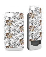 Tasmanian Devil Super Sized Pattern iPhone 6/6s Wallet Case