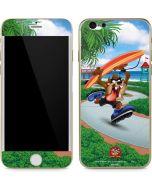 Tasmanian Devil Surfboard iPhone 6/6s Skin