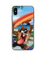 Tasmanian Devil Surfboard iPhone XS Max Skin