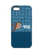Tasmanian Devil Yell iPhone 5/5s/SE Pro Case