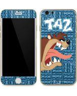 Tasmanian Devil Yell iPhone 6/6s Skin
