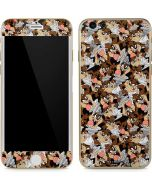 Taz Super Sized Pattern iPhone 6/6s Skin