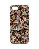 Taz Super Sized Pattern iPhone 8 Pro Case
