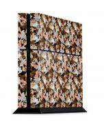 Taz Super Sized Pattern PS4 Console Skin