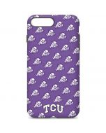 TCU Horned Frogs Logo Print iPhone 7 Plus Pro Case