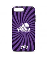TCU Horned Frogs Mascot Swirl iPhone 7 Plus Pro Case