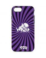 TCU Horned Frogs Mascot Swirl iPhone 8 Pro Case