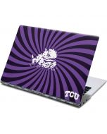 TCU Horned Frogs Mascot Swirl Yoga 910 2-in-1 14in Touch-Screen Skin