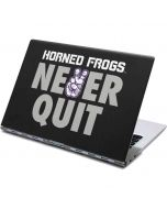 TCU Horned Frogs Never Quit Yoga 910 2-in-1 14in Touch-Screen Skin