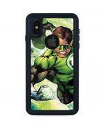 Team Green Lantern iPhone XS Waterproof Case