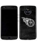 Tennessee Titans Black & White Moto X4 Skin